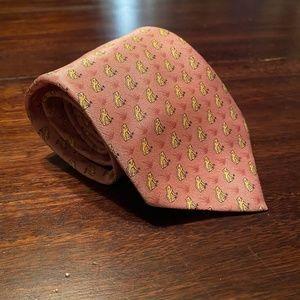 Hermes Frog Tie